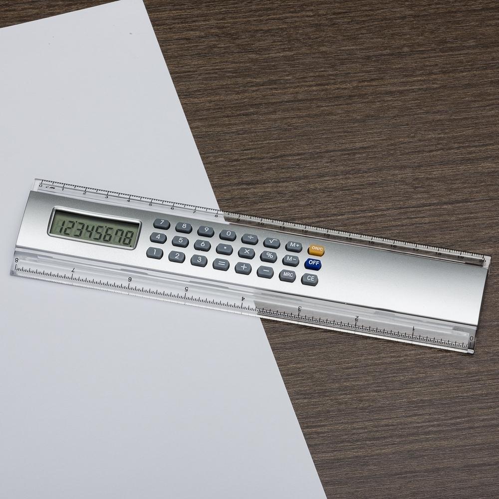 Régua 20cm com Calculadora