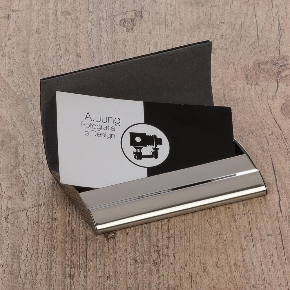 Porta Cartão de Couro