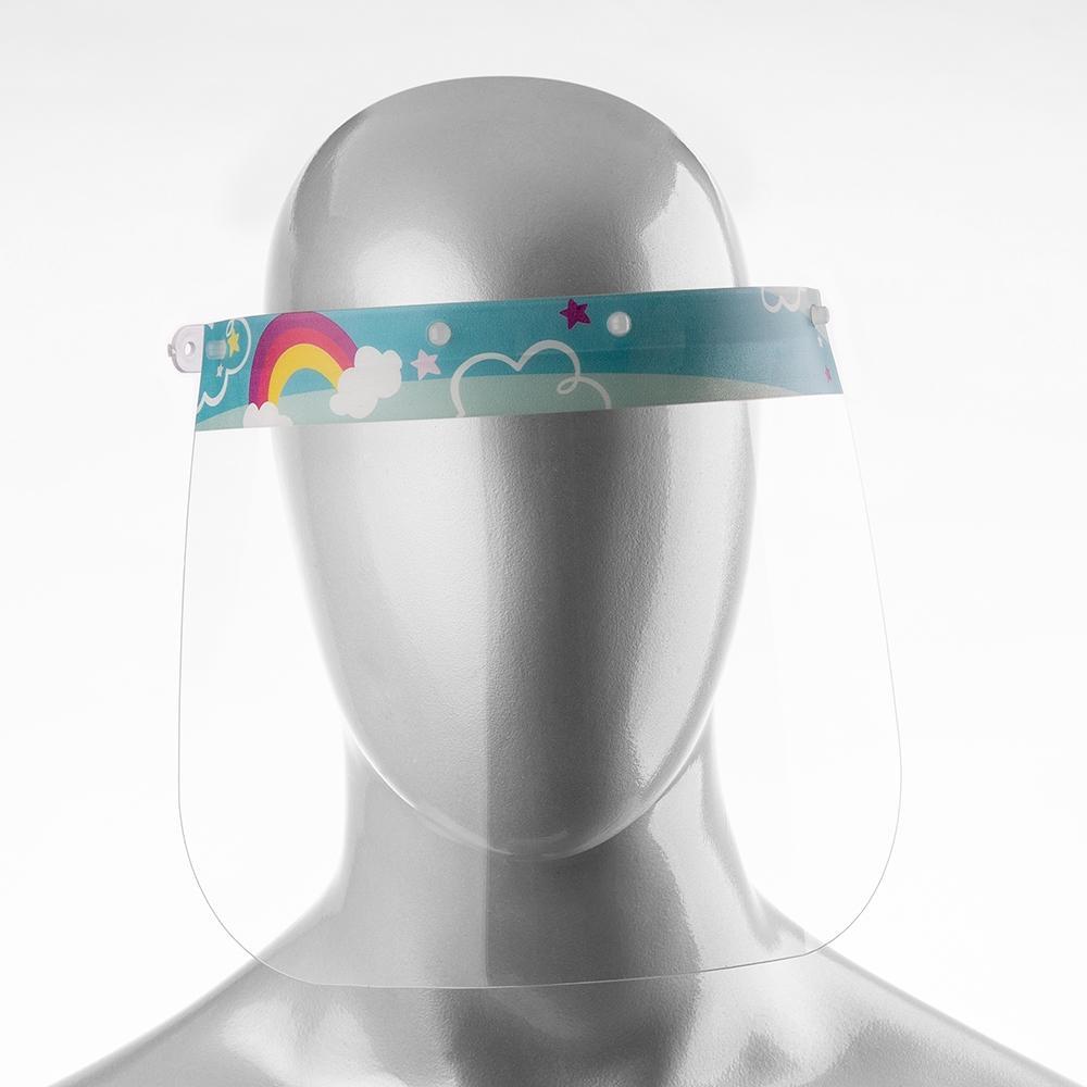 Máscara Infantil PETG de Proteção Facial