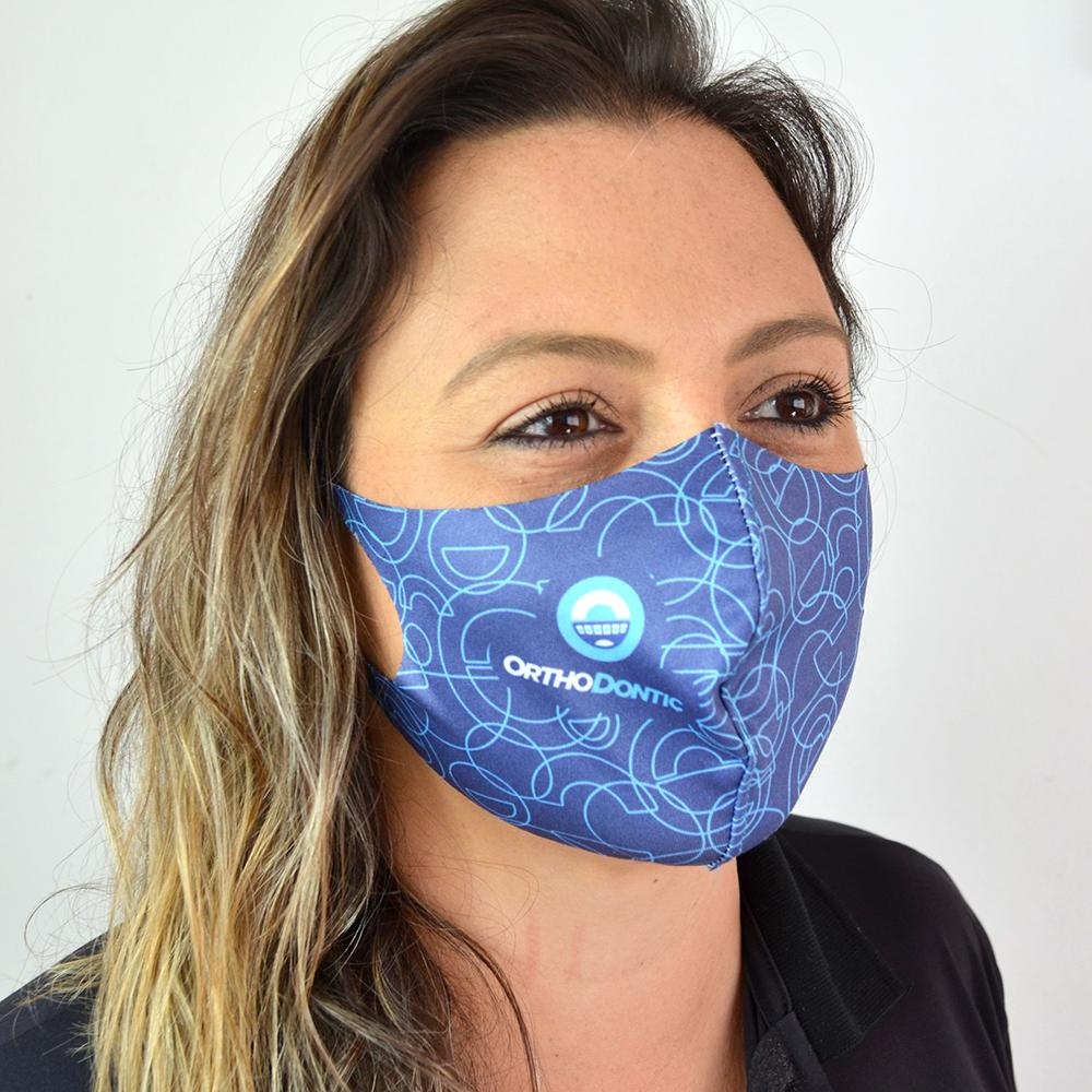 Máscara Poliamida Lavável