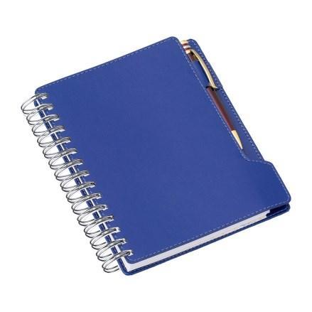 Agenda Wire-o de Mesa Azul