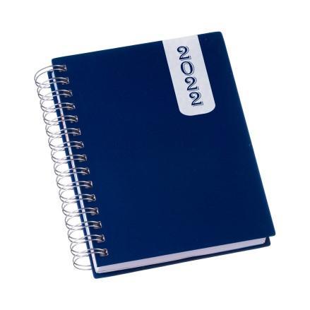 Agenda Wire-o Capa Prime Azul