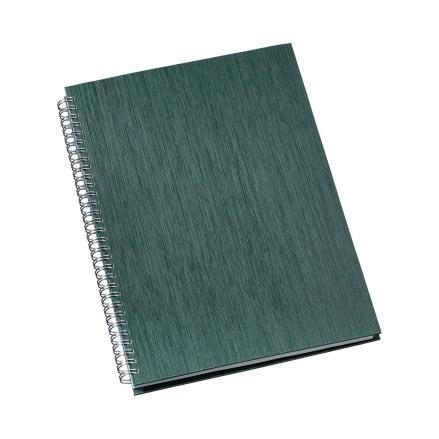 Caderno de Negócios Pequeno Capa Metalizada Verde