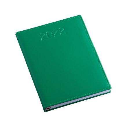 Agenda Metalizada Lisa Verde